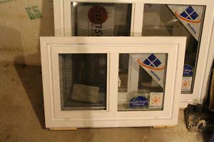 "New 31"" x "" Brick mould, Low-E Argon Gas Window"