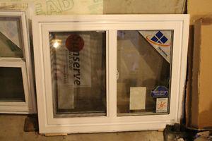 "New 37"" x "" Brick mould, Low-E Argon Gas Window"