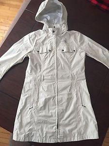 North Face rain jacket