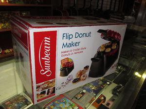SUNBEAM Flip Donut Maker New In The Box!!