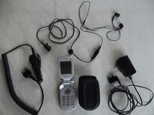 Sony Ericsson flip-phone