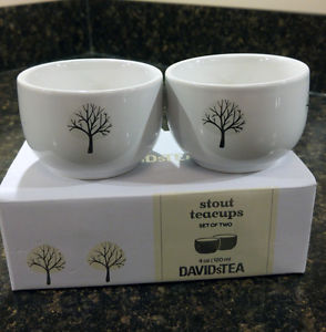 Stout Tea Cups - David's Tea