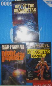 The Dragonstar Trilogy by David Bischoff PB