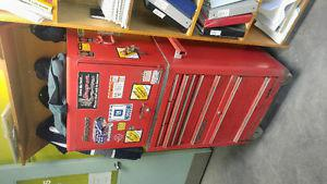 Tool box and snap on tools
