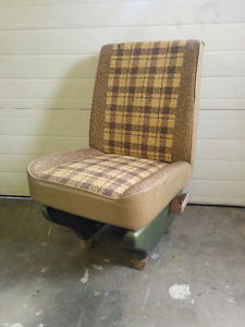 Vintage Van Seat Made into a Chair