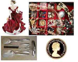 Wanted: Buying Estate Jewellery, China, Silver, Coins,