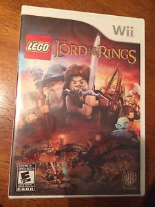 Wii Lego the lord of the rings game