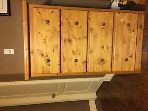 6pc Solid Pine Queen bedroom set