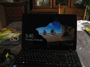 Acer laptop 15.6 screen