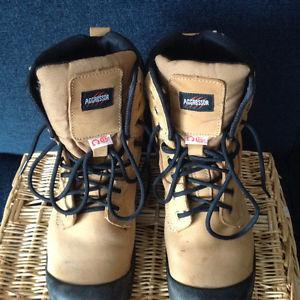 Aggressor Steel Toe Work Boots