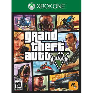 Brand New SEALED Grand Theft Auto V For Xbox One