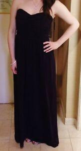Donna Morgan Bridesmaid Dress in Plum/Amethyst -- Size 8