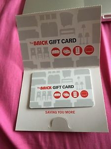Gift card to the Brick