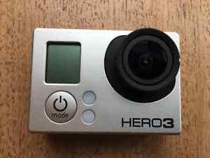 Go Pro Hero 3 Black with carrying case and accessory kit