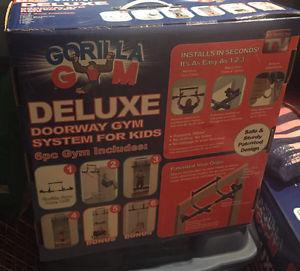Gorilla gym Deluxe for kids to play in the house