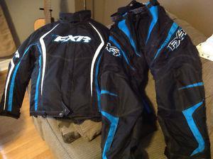 Ladies FXR snow pants and jacket