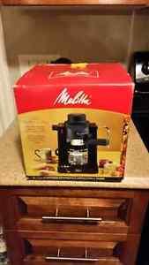 Melitta 4 cup Expresso/Cappuccino Make