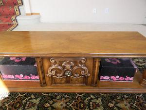 Solid Oak Living Room Table