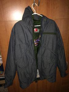 Under Armour Winter Jacket Size Large.