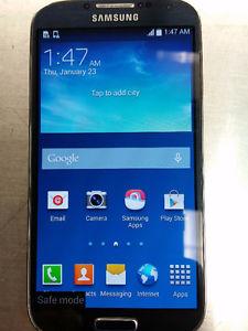 Unlocked Samsung Galaxy S4 black, Good Condition