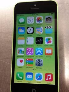Unlocked iPhone 5C 1x Blue / 1X Green, 8GB Excellent
