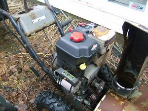 11 HP BRIGGS AND STRATTON MOTOR OFF A CRAFTSMAN