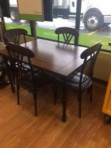 Beautiful 5 piece ashley furniture dinette