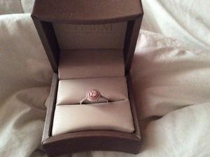 Charm diamond engagement ring