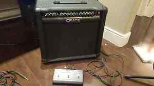 Crate 65 watt amp, like new