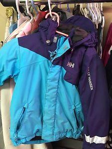 Girl's size 5 Helly Hansen coat