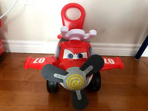 Toddler Ride-On Push Plane