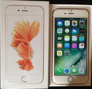 iPhone 6s Rose Gold with Bell/Virgin