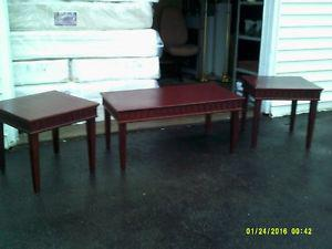 3 PCS Coffee table set. { Good used Hotel furniture for sale