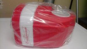 Brand New In Package Budweiser Hockey Glove Beer Holder