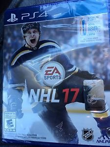 Brand new unopened NHL 17 PS4 $50