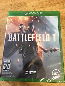 Brand new unopened battlefield 1 for xbox one. $50