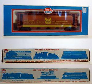 CWB Canadian Wheat Board Grain Hopper Railcar 1/87 HO Scale