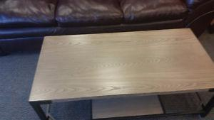 DEXIFELD COFFEE TABLE AND END TABLE