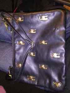 Drop dead black leather purse excellent condition $