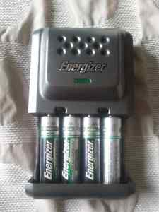 Energizer Rechargeable Battery Charger and Batteries