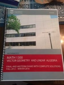 Grant's Tutoring Vector Geometry and Linear Algebra