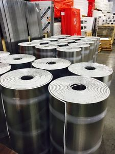 Insulation(Foil Back)From '' To 3'' Thick ! Factory
