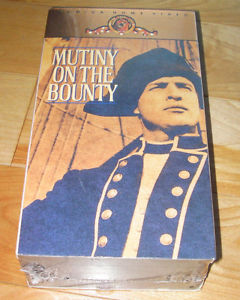 Mutiny on the Bounty on VHS tape (New,never opened)
