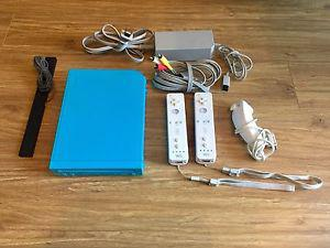 Nintendo Wii Console with Controllers and Games