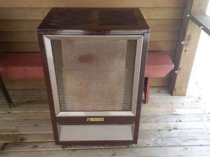 Oil heater for camp or workshop-Fawcett