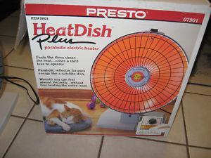 PRESTO RADIANT HEAT DISH