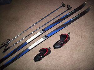 Salomon SNS Design Ski, Poles and Boots Cross Country Set