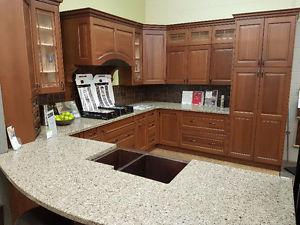Showroom Kitchen Cabinets For Sale