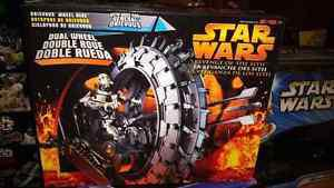 Star wars genral grievous wheel bike!