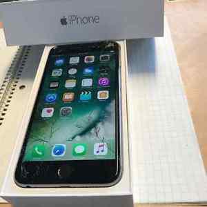 iPhone 6 plus - 64gb w/ cracked screen